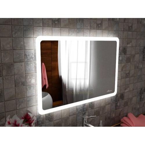 Зеркало с подсветкой для ванной комнаты Катания