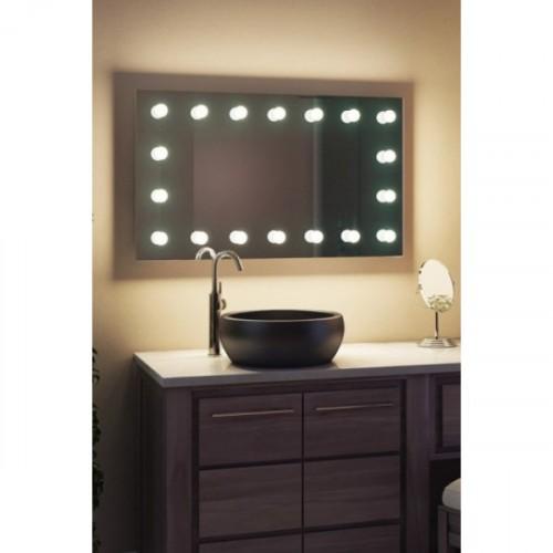 Гримерное зеркало для ванной комнаты 60х140